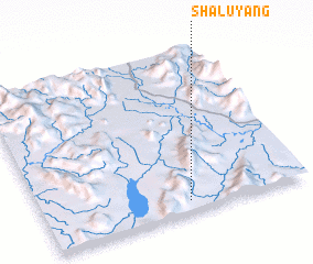 3d view of Shaluyang