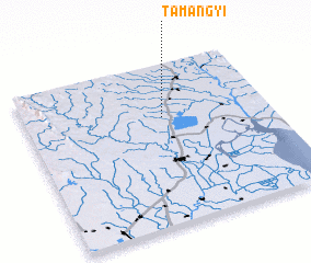 3d view of Tamangyi