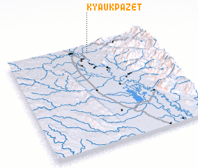 3d view of Kyaukpazet