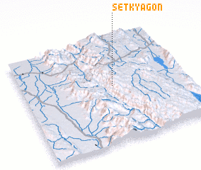 3d view of Setkyagon