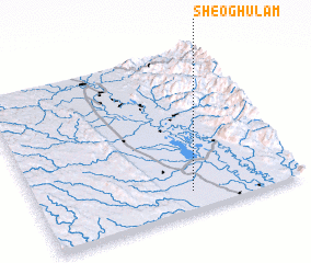 3d view of Sheo Ghulam