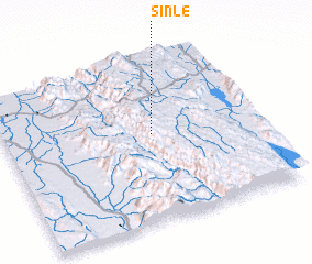 3d view of Sinle