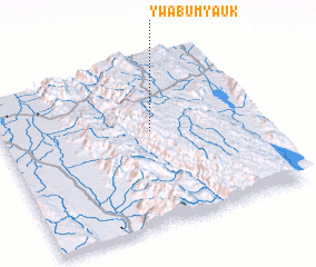 3d view of Ywabu Myauk