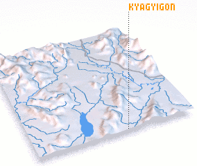 3d view of Kyāgyigon