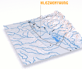 3d view of Hlezwemyaung