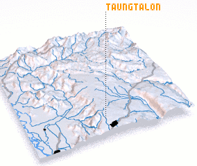 3d view of Taungtalôn