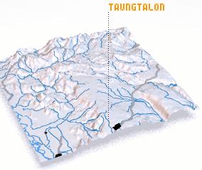 3d view of Taungtalôn