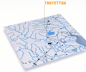 3d view of Thayettaw