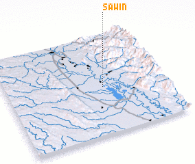 3d view of Sawin