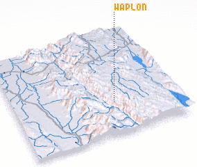 3d view of Waplon