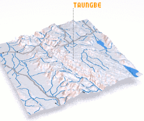 3d view of Taungbe