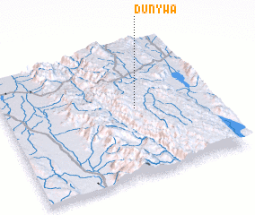 3d view of Dunywa