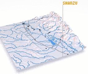 3d view of Shanzu