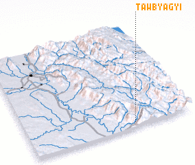 3d view of Tawbyagyi