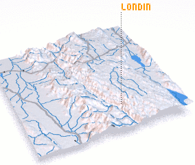 3d view of Londin