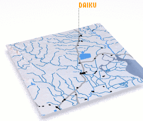 3d view of Daik-u