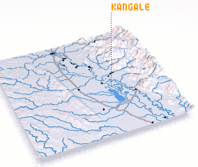 3d view of Kangale