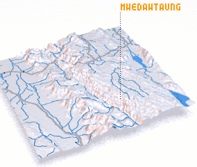 3d view of Mwedaw Taung