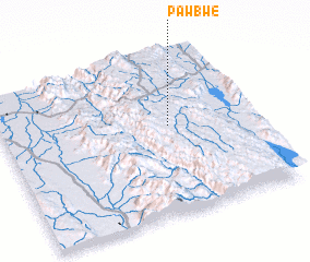 3d view of Pawbwe