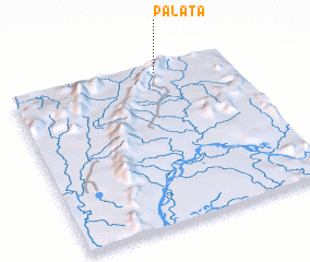 3d view of Palata