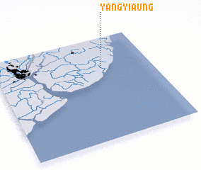 3d view of Yangyi-aung