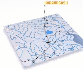 3d view of Kodaung Asu