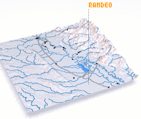 3d view of Rām Deo