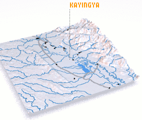 3d view of Kayingya