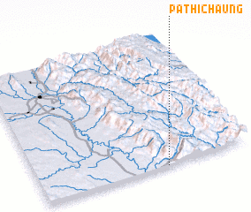 3d view of Pathichaung
