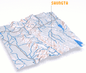 3d view of Saungta