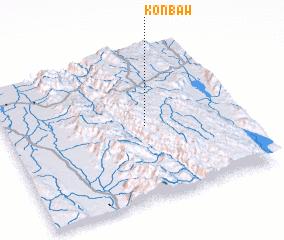 3d view of Konbaw