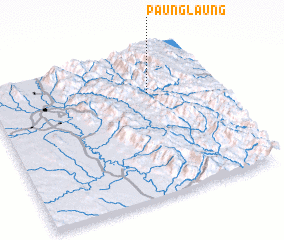 3d view of Paunglaung