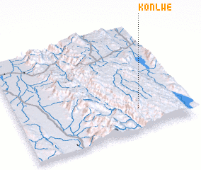 3d view of Konlwe