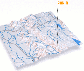 3d view of Paw-in