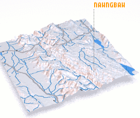 3d view of Nawngbaw