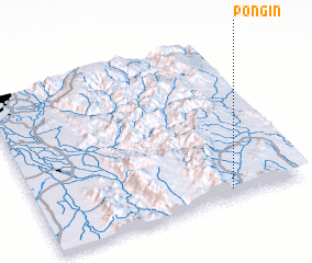 3d view of Pong-in