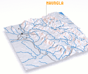 3d view of Maungla