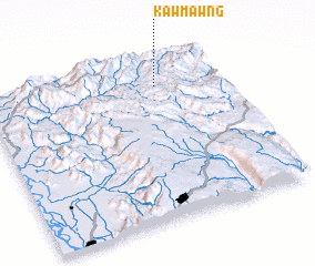 3d view of Kawmawng