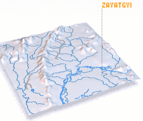 3d view of Zayatgyi