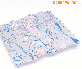3d view of Paungyaung