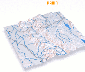 3d view of Pakin