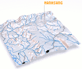 3d view of Manhsang