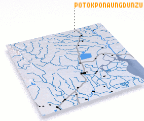 3d view of Potokpon Aungdunzu