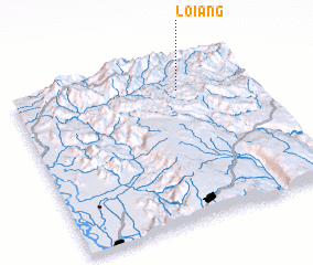 3d view of Loi-ang
