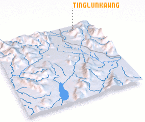 3d view of Tinglunkawng