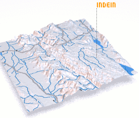 3d view of Indein