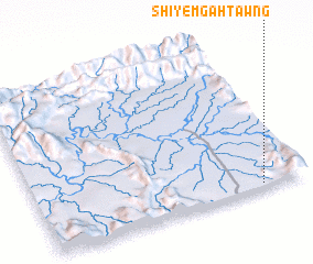3d view of Shiyem Gahtawng