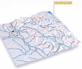 3d view of Saungkan