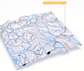 3d view of Mān Hkoknam