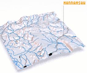 3d view of Mān Namsaw